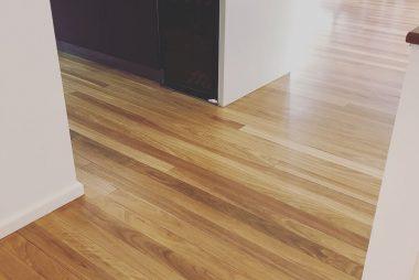 timber floor sanding and polishing - smooth