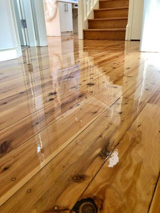 Pine-flooring-Water-based